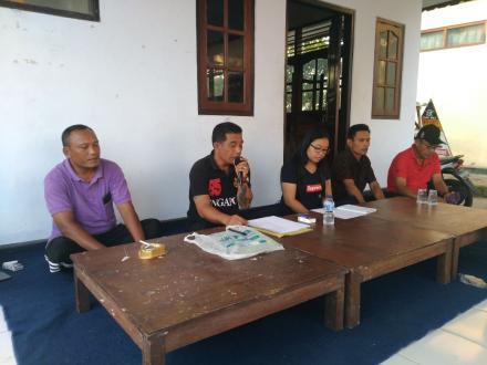 Sosialisasi Perbaikan Gang dalam Rangka Pembangunan Desa