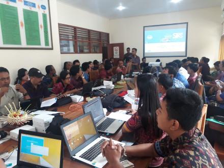 Sosialisasi Aplikasi SIKS-NG dari Dinas Sosial Kabupaten Buleleng